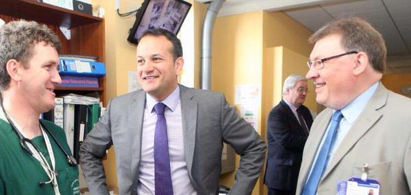 Minister for Health visit