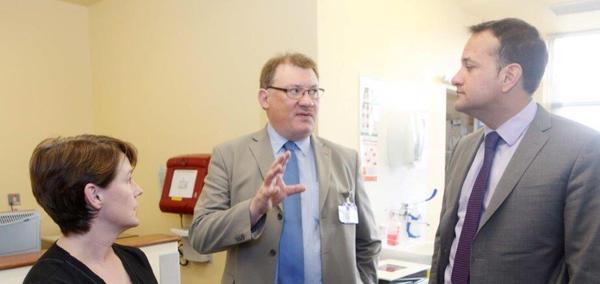 Minister for Health visit1