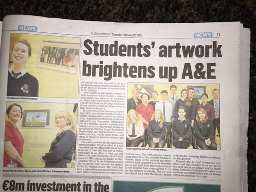 Sligo champion art article